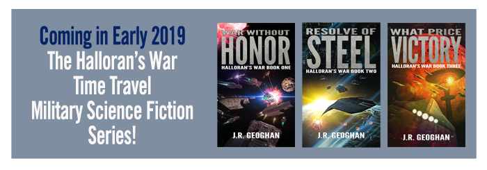 Halloran's War Series by J.R. Geoghan