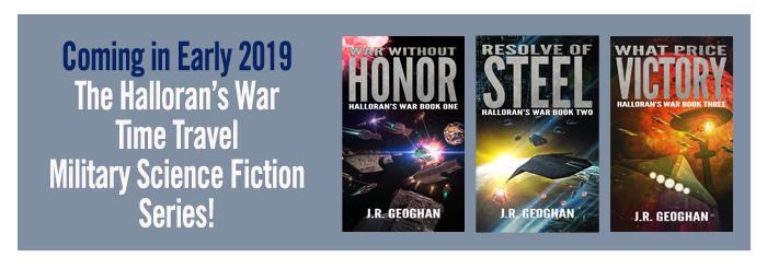 Halloran's War Series by J.R. Geoghan